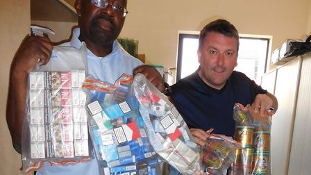 Two-day operation in June 2018 uncovers 12,360 cigarettes and 2,250g of hand-rolling tobacco hidden