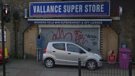 Vallance mini supermarket in a Bethnal Green railway arch where GPS signals located stolen mobile ph