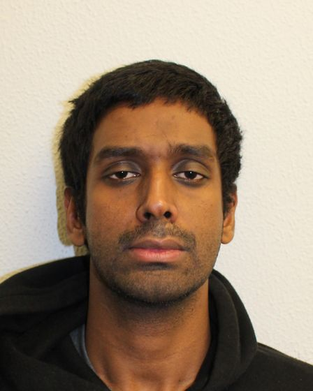 Shah Rahman was found guilty of manslaughter and jailed for 12 years. Pic: Met Police