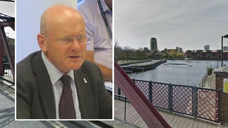 Don't risk swimming in Shadwell Basin, warns Tower Hamlets Mayor John Biggs. Picture source: Mike Br