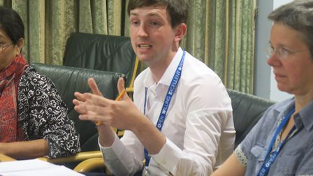"""Cllr Dan Tomlinson... """"This is difficult, balancing needs of the people of Chrisp Street with the 20"""