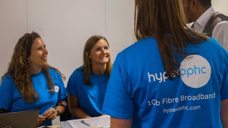 Hyperoptic team recruiting staff for its network expansion. Picture: Kois Miah