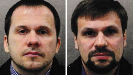 Alexander Petrov, left, and Ruslan Boshirov have been named as suspects. Pic: Met Police