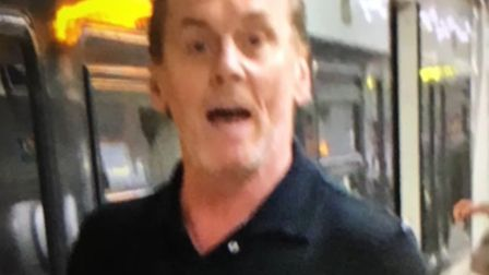 Police would like to speak to this man. Pic: BTP