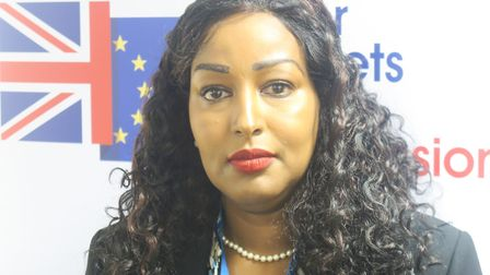 """Tower Hamlets Brexit Commissioner Amina Ali... """"We need your vote."""" Picture: Mike Brooke"""