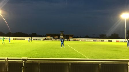 Leyton Orient in action away at Cheshunt (Pic: Jacob Ranson)