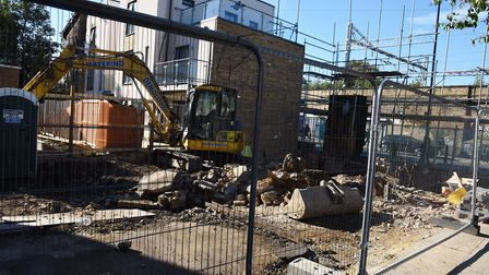The Carlton pub in Stepney Green was demolished by developers and has now been ordered by the counci