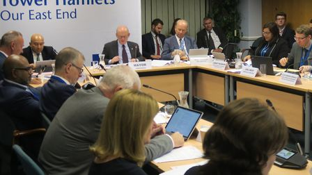 Tower Hamlets cabinet hears plans for setting up a Spitalfields 'town council'. Picture: Mike Brooke