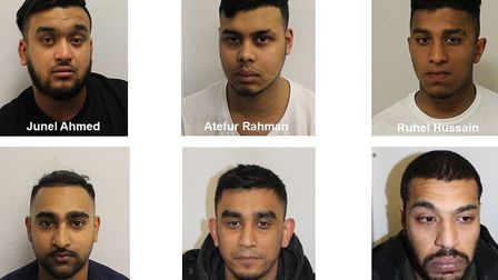 Six men were sentenced to a combined total of more than 14 years in jail for a string of drug supply