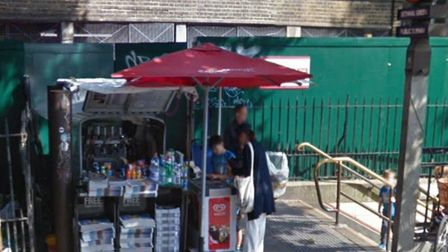 It can stay... Mr Wong's coffee stall outside Bethnal Green tube station. Picture source: Google