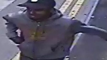 Image of man police wish to trace. Picture: Met Police