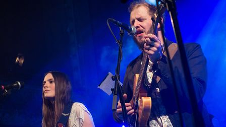 Bon Iver performing at Wilton Music Hall. Picture: Paul Hudson/ (CC BY 2.0)