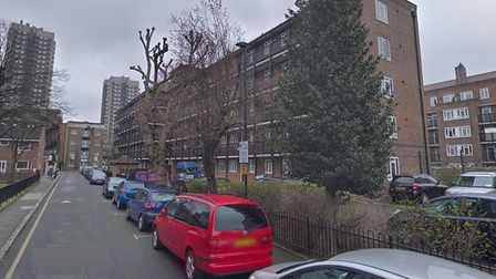 """Berner Estate in Whitechapel where anyone with """"no business being there"""" faces arrest and fine or ja"""