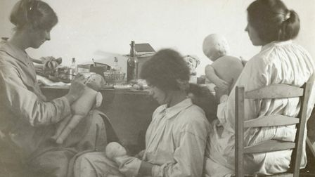 Toy factory co-operative set up in Bow c1915 by Sylvia Pankhurst's East London Federation of Suffrag