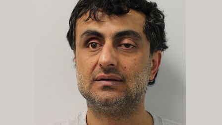 Rahim Mohammadi... 'violent and evil' man who strangled 80-year-old grandmother and dumped body in s