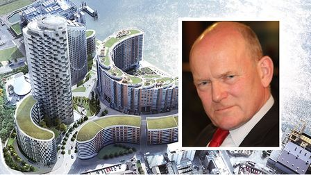 """Mayor John Biggs: """"Residents sleep at night knowing cladding is unsafe... this is unacceptable."""" Pic"""