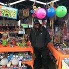 Roman Road Market toy seller Kenny Irish. Picture: Tilly Armstrong