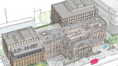 The new civic centre will now cost �120m. Picture: LBTH