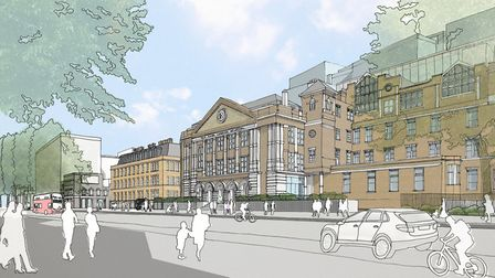 The old London Hospital building in Whitechapel will become new Tower Hamlets civic centre. Picture: