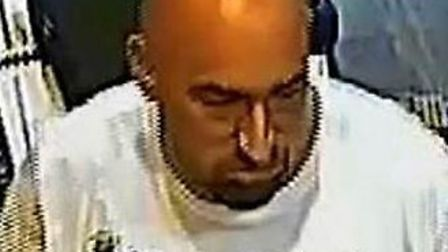 Officers would like to speak to this man. Picture: Met Police