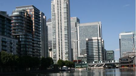 Canary Wharf could lose place as Europe's financial power house over 'no deal' Brexit. Picture: Geof