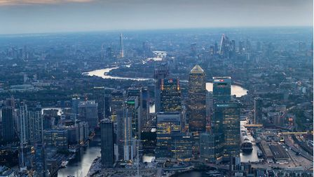 Brexit 'no deal'... 'Sunset' for Canary Wharf? Picture: CWG