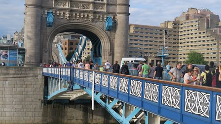 Iconic Tower Bridge that is London's defining landmark. Picture: Mike Brooke