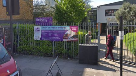 Mulberry School in Commercial Road has lost £282,000 from its budget. Picture: Google