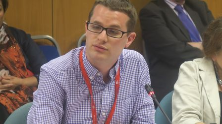 """Cllr Danny Hassell, council� cabinet member for schools... """"It's only going to get tougher."""" Picture"""