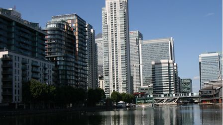 A man has died after falling in a shopping centre in Canary Wharf. Picture: Geoff Marshall