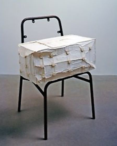 Rachel Whiteread's Cushion. Picture: Mike Bruce