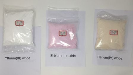 The gang persuaded vulnerable people to invest in rare earth elements like these.Pic: Surrey Police