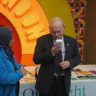 John Biggs visited a stop smoking session at the Royal London Hospital to launch the campaign. Pictu