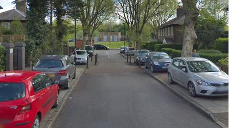 New parking restrictions to stop pavement parking in Thermopylae Gate. Picture: Google