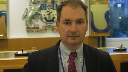 """Tory group leader Andrew Wood... """"Labour supplied misleading school funding statistics."""" Picture: Mi"""