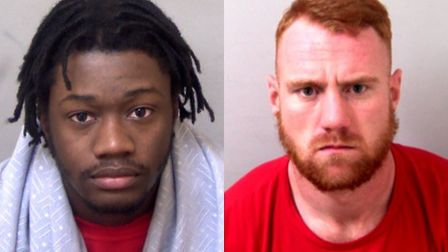 Kyle Poyer-Emmanuel and Thomas Warwick have been jailed. Picture: Essex Police