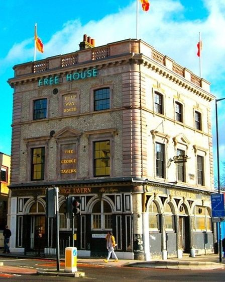 The George Tavern in the Commercial Road. Picture: Pauline Forster