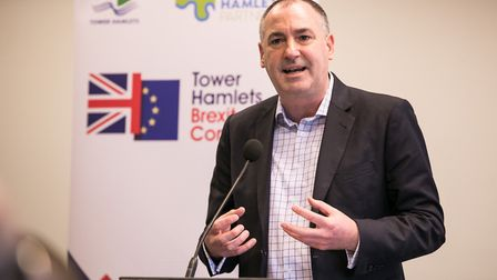 Jim Minton is the chief executive of Toynbee Hall. Pic: Kois Miah