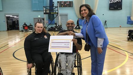 London Titans have received a charitable donation from Path to Success (pic: Path to Success)