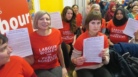 Launch of Tower Hamlets women's manifesto in March, 2018. Picture: Mike Brooke
