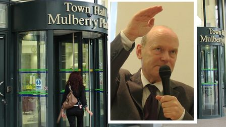 """Mayor John Biggs... """"Failed police investigation has let people off the hook."""" Picture: Mike Brooke"""
