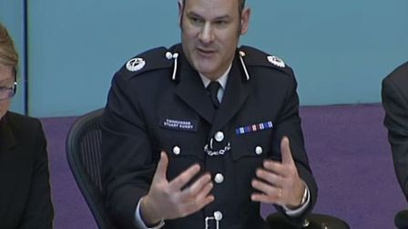 Met Police Cmdr Cundy under fire at City Hall in 2017 over failures to bring criminal charges over c
