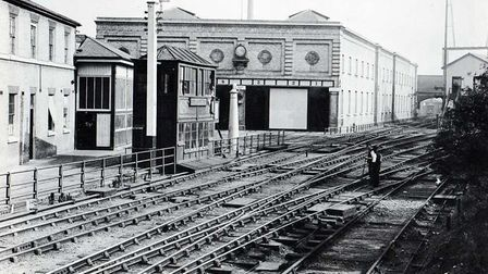 Alexander Parkes legacy... his factory railway depot at Hackney Wick in 1893, but was the end of the