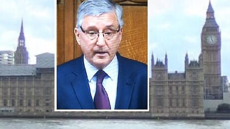 MP Jim Fitzpatrick... ready to help clean up his east London constituency. Picture: Parliament newsf