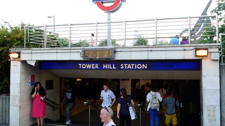 The man was found unconscious near Tower Hill station. Pic: Flickr/Ewan Munro