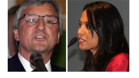 East End's two neighbouring Labour MPs Jim Fitzpatrick and Rushanara Ali... split over some Brexit o