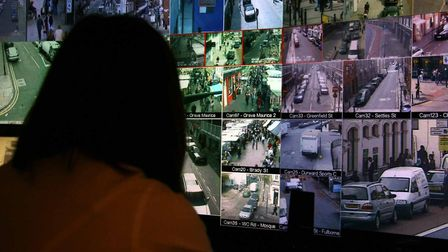 Council staff monitoing drug-dealing activity on CCTV. Picture: LBTH