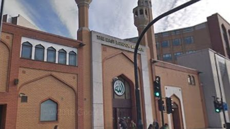 East London Mosque in Whitechapel where meeting was held over security concerns. Picture: Google