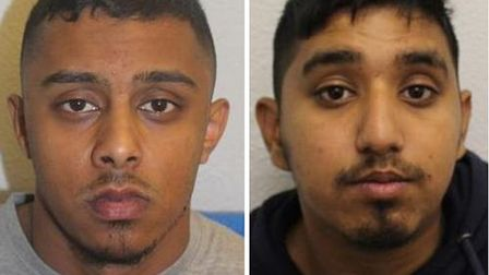 Convicted of attempted murder in Cable Street... Mohammed Habib Ali from Shadwell and Alomgir Shahri