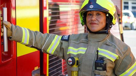 Women in particular are being encouraged by mayor of Tower Hamlets to join up. Picture: LFB